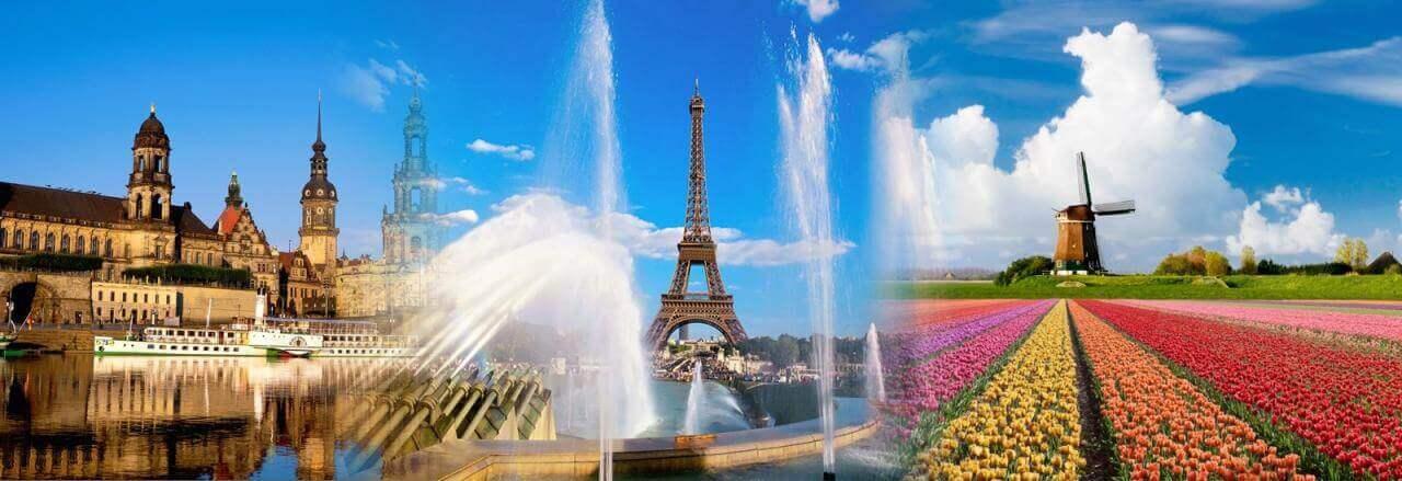 Chứng minh tài chính du lịch Châu Âu