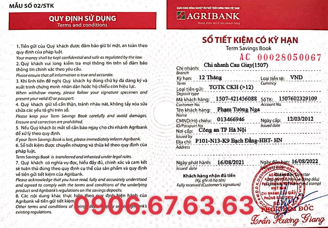 So Tk Agribank