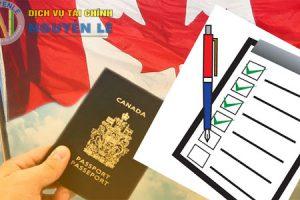 Check List Thủ Tục Xin Visa Canada