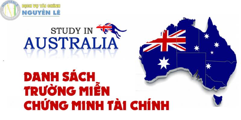 Danh Sach Truong Mien Chung Minh Tgggai Chinh Du Hoc Uc 1585812847